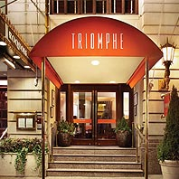 Triomphe: A Triumph of Food & Wine