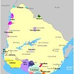 uruguay wine map